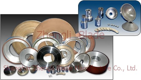 Round blade  the paper knife edge grinding wheel, the paper alloy pole,Alloy blade grinding wheel Fanning Island
